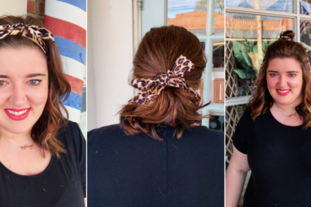 6 Different Ways to Wear a Hair Scarf