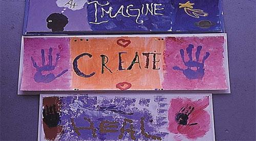 Pediatric AIDS-HIV artwork