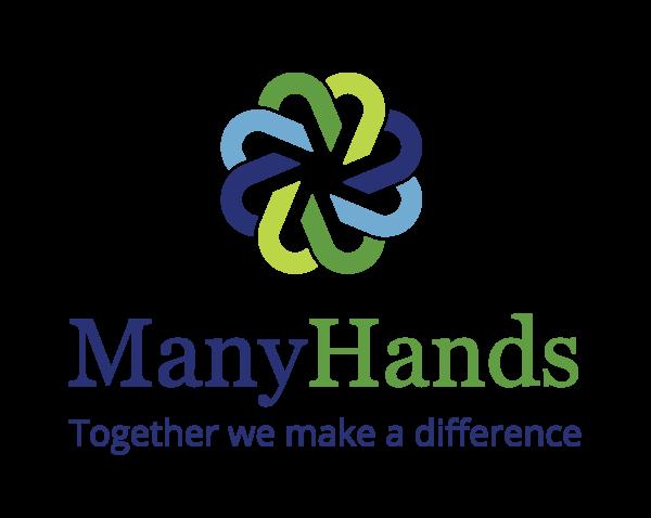 Many Hands logo