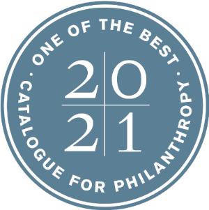 Catalogue for Philanthropy 2020-21 seal