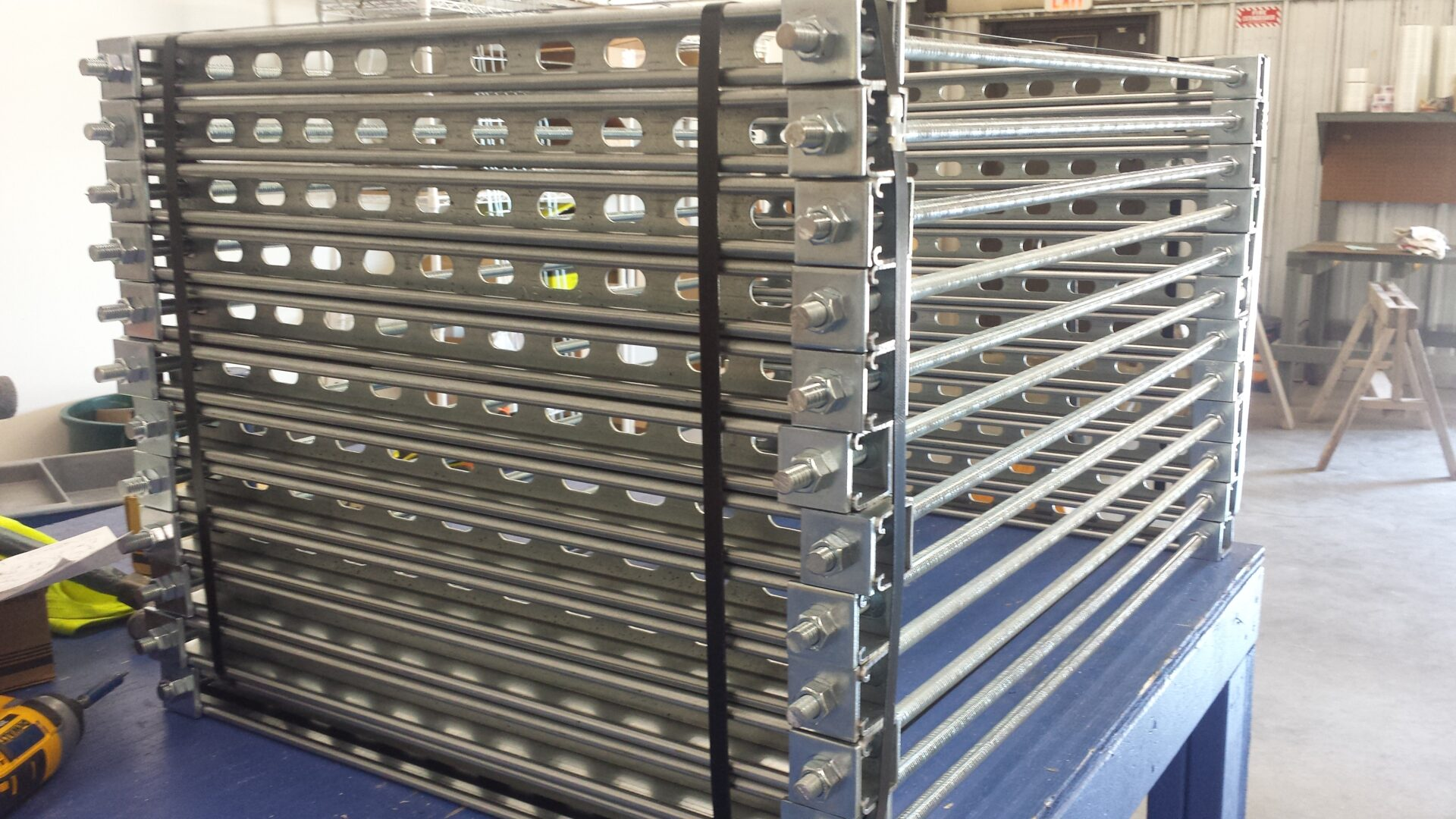Prefabricated electrical panels