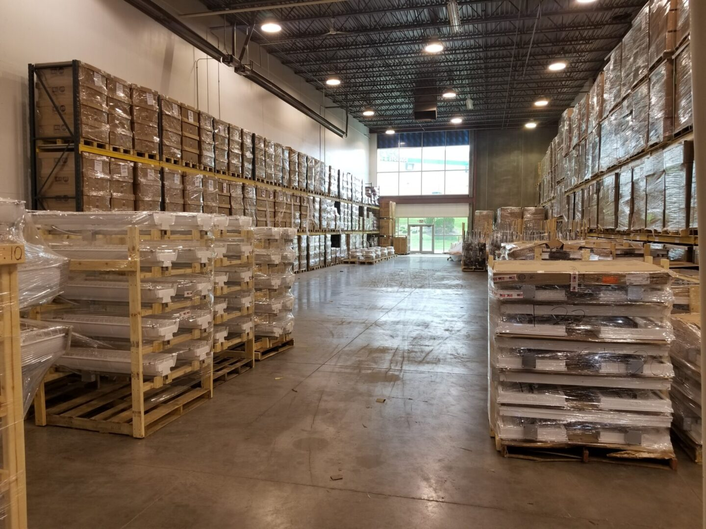 Warehouse of Midwest Prefabrication Inc