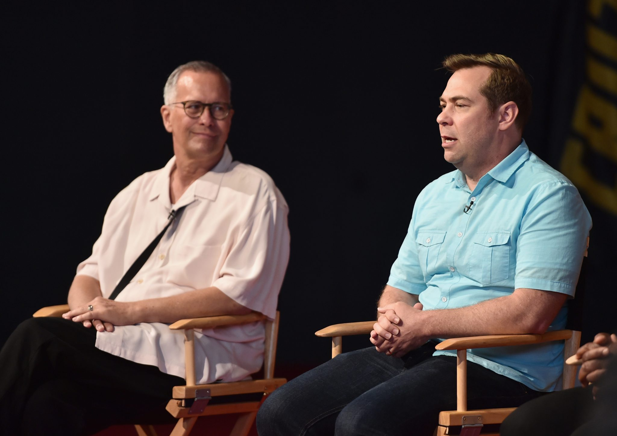 Kevin Reher, Brian Fee - Pixar's Cars 3 Press Conference