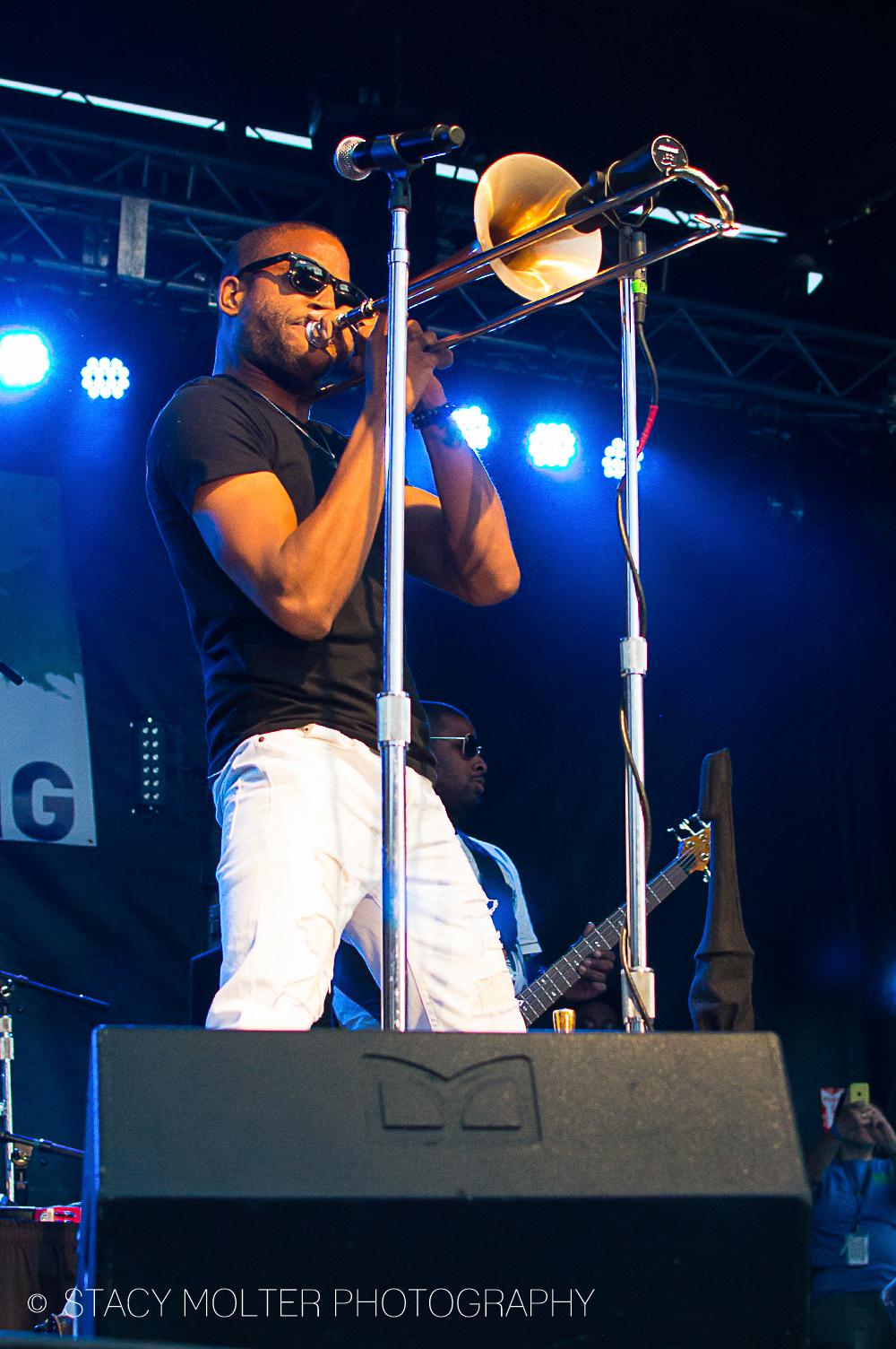 Trombone Shorty - Sacramento Music Festival 2014 - Trombone Shorty