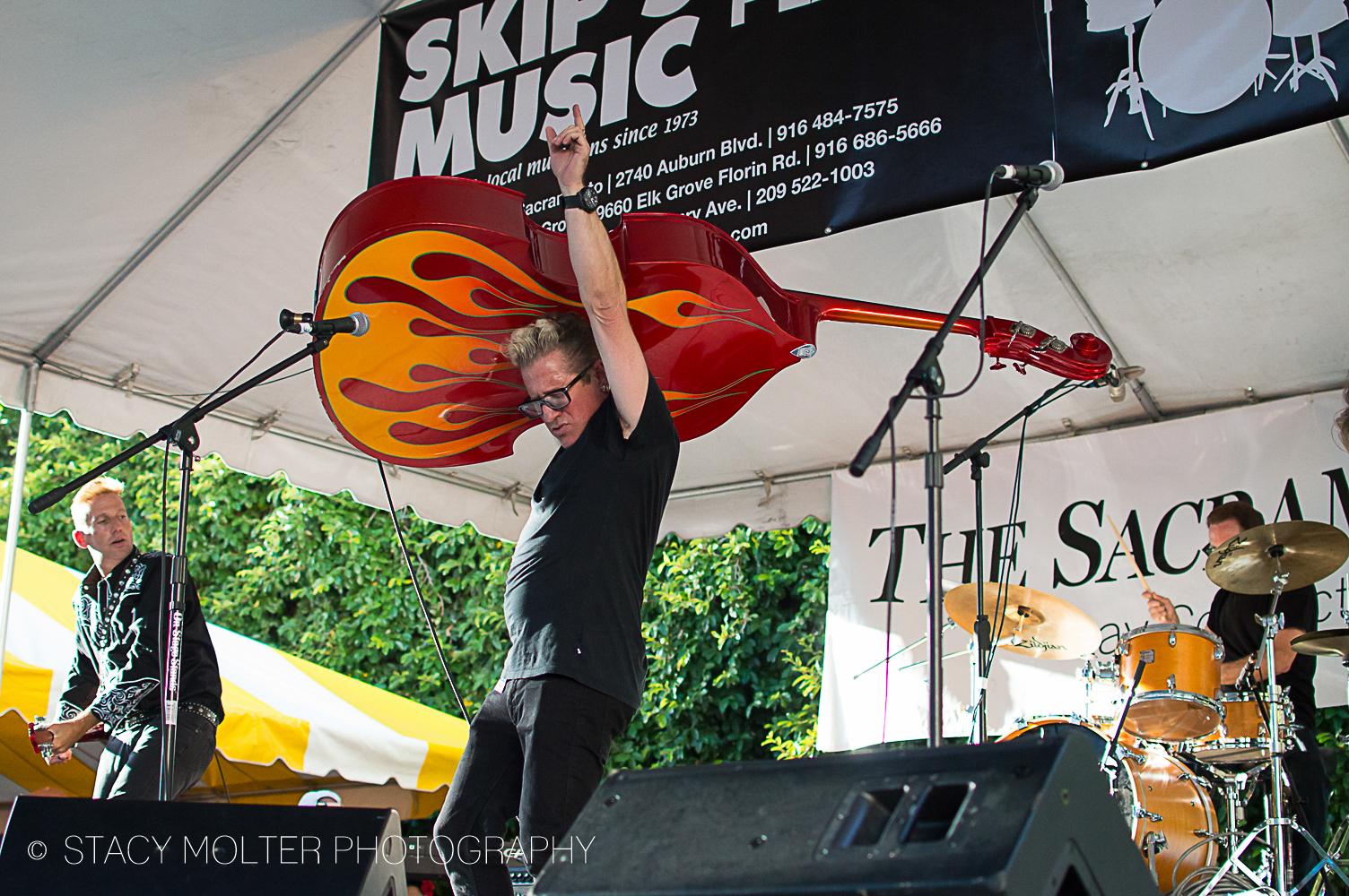 Lee Rocker - Sacramento Music Festival 2014 - The Stray Cat Lee Rocker