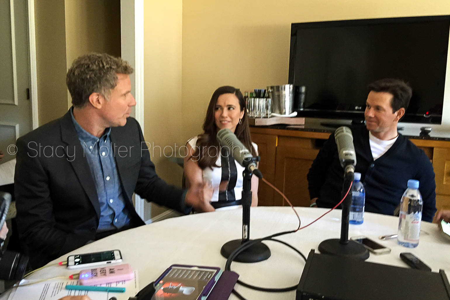 Will Ferrell, Linda Cardellini, Mark Wahlberg - Daddy's Home Junket