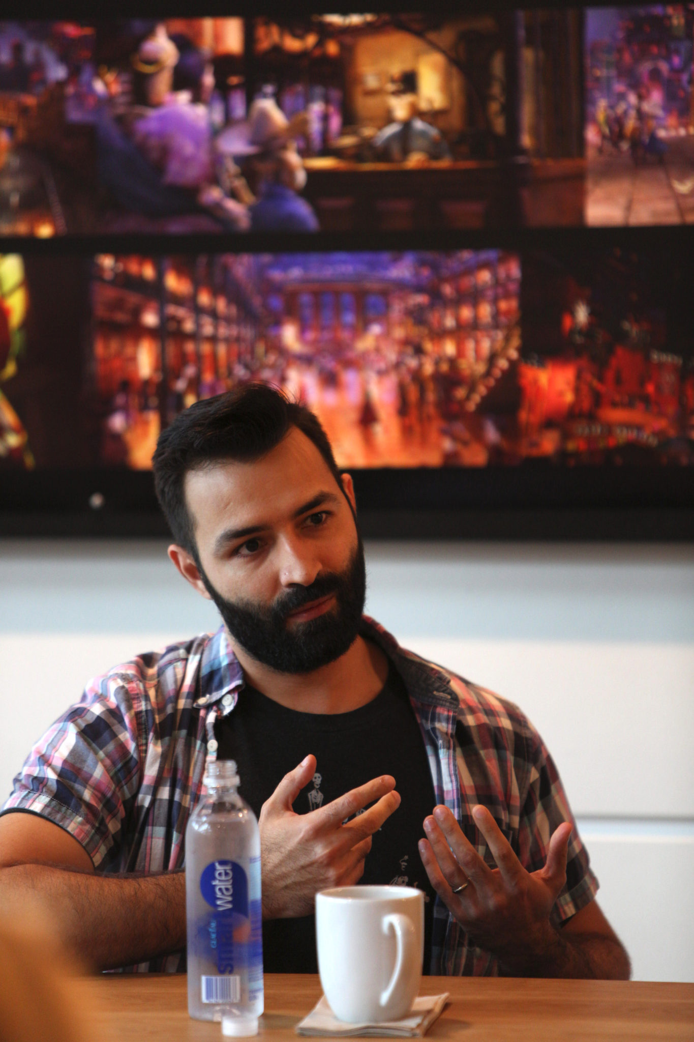 Adrian Molina - Disney Pixar Coco Press Conference