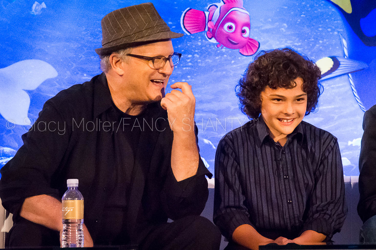 Albert Brooks & Hayden Rolence - Finding Dory Press Conference