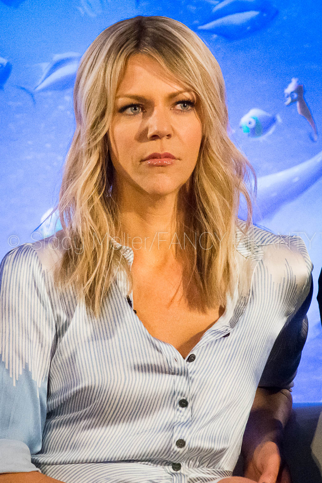 Kaitlin Olson - Finding Dory Press Conference