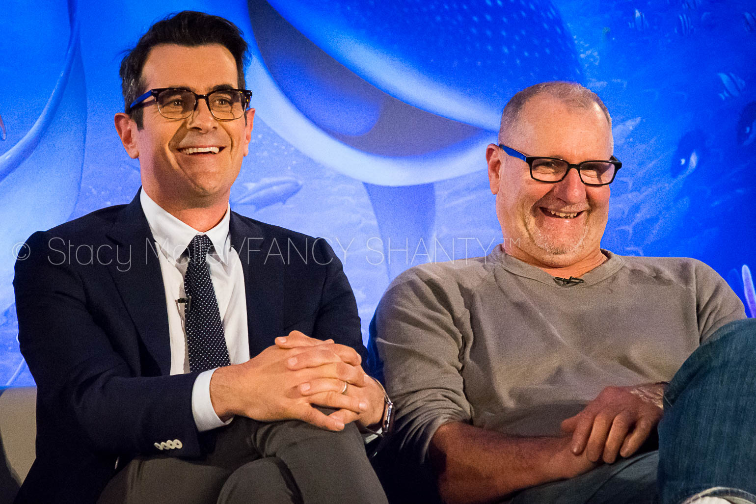 Ty Burrell & Ed O'Neill - Finding Dory Press Conference