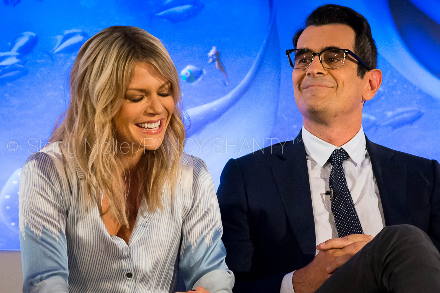 Kaitlin Olson & Ty Burrell - Finding Dory Press Conference