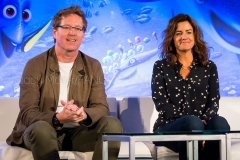 Director Andrew Stanton & Producer Lindsey Collins - Finding Dory Press Conference