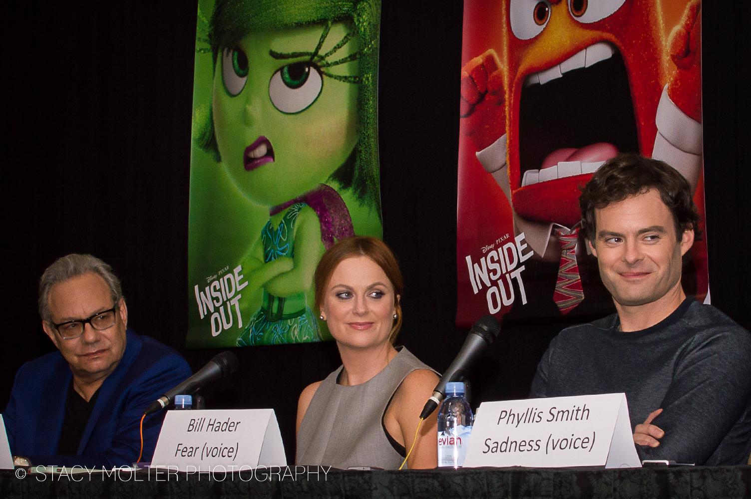 Lewis Black, Amy Poehler, Bill Hader - Disney Pixar Inside Out