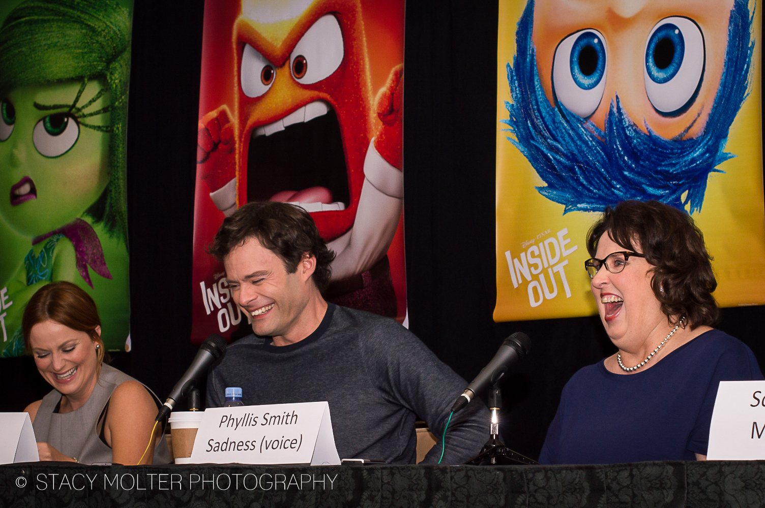 Amy Poehler, Bill Hader, Phyllis Smith - Disney Pixar Inside Out