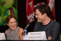 Amy Poehler & Bill Hader - Disney Pixar Inside Out