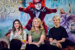 Anne Hathaway, Suzanne Todd, Mia Wasikowska - Disney's Alice Through the Looking Glass Junket