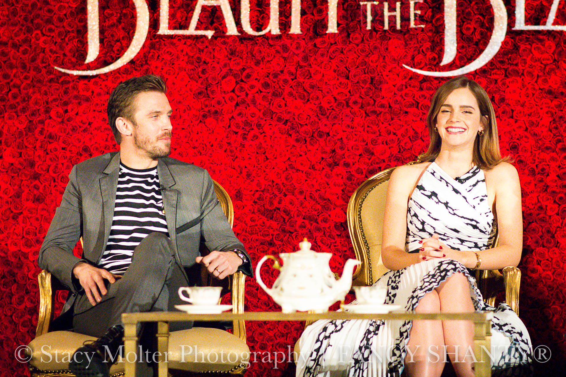 Dan Stevens, Emma Watson - Disney's Beauty and the Beast Press Conference