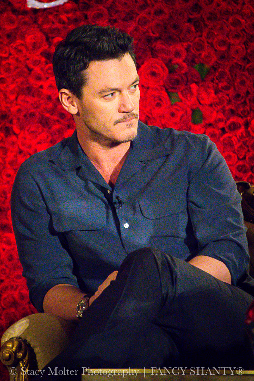 Luke Evans - Disney's Beauty and the Beast Press Conference