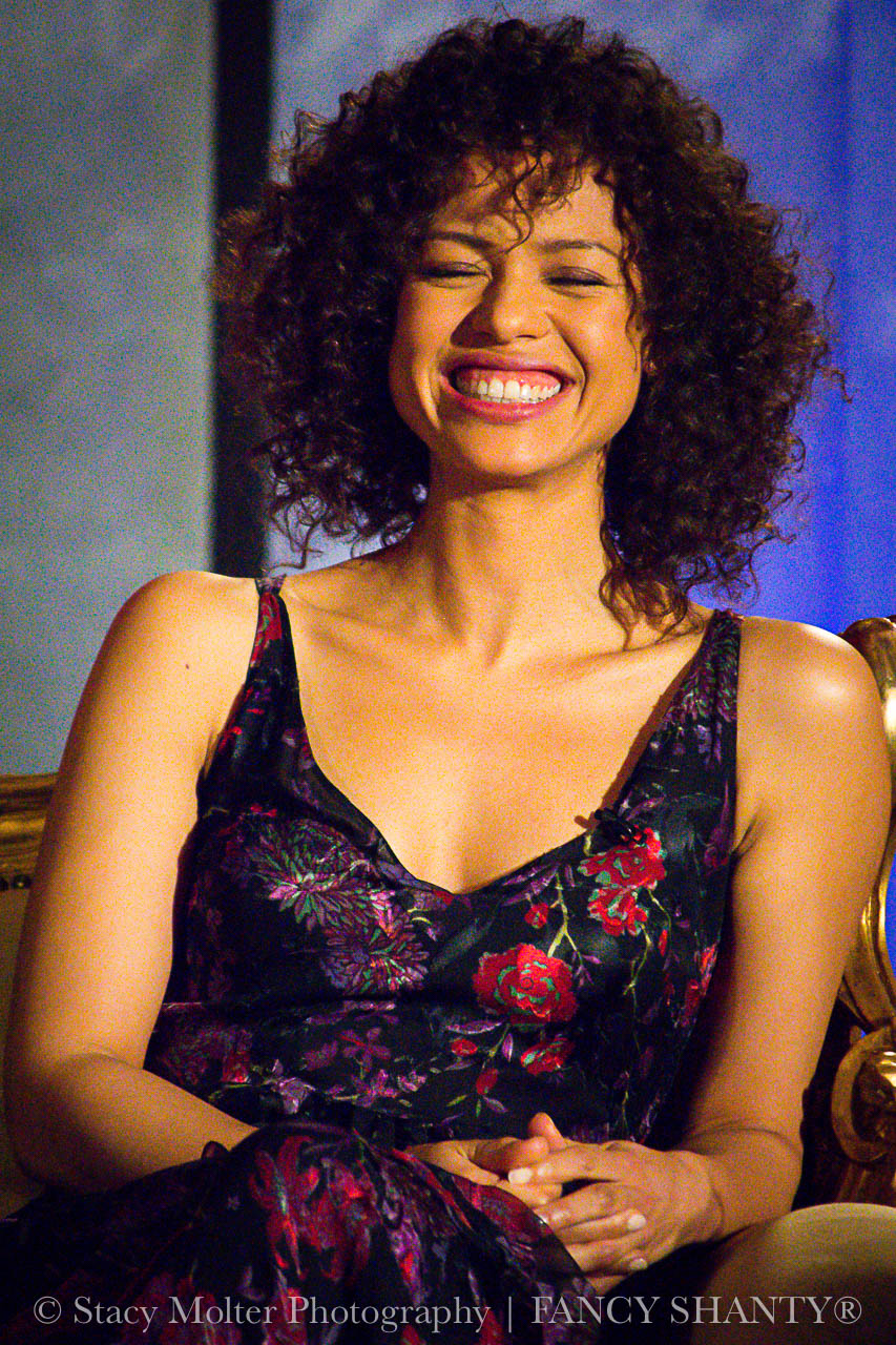 Gugu Mbatha-Raw - Disney's Beauty and the Beast Press Conference