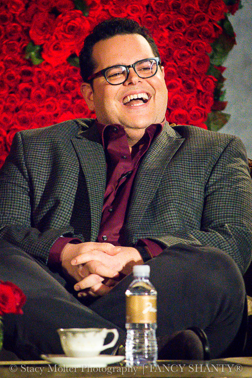 Josh Gad - Disney's Beauty and the Beast Press Conference