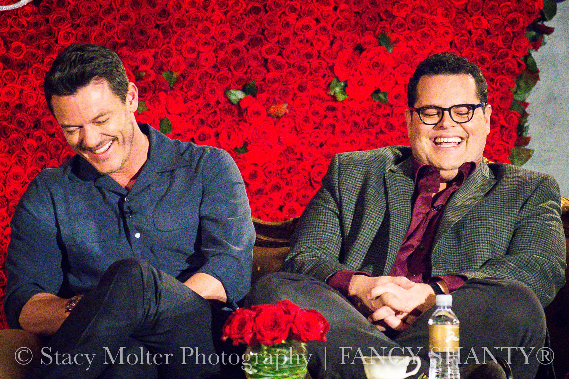 Luke Evans, Josh Gad - Disney's Beauty and the Beast Press Conference