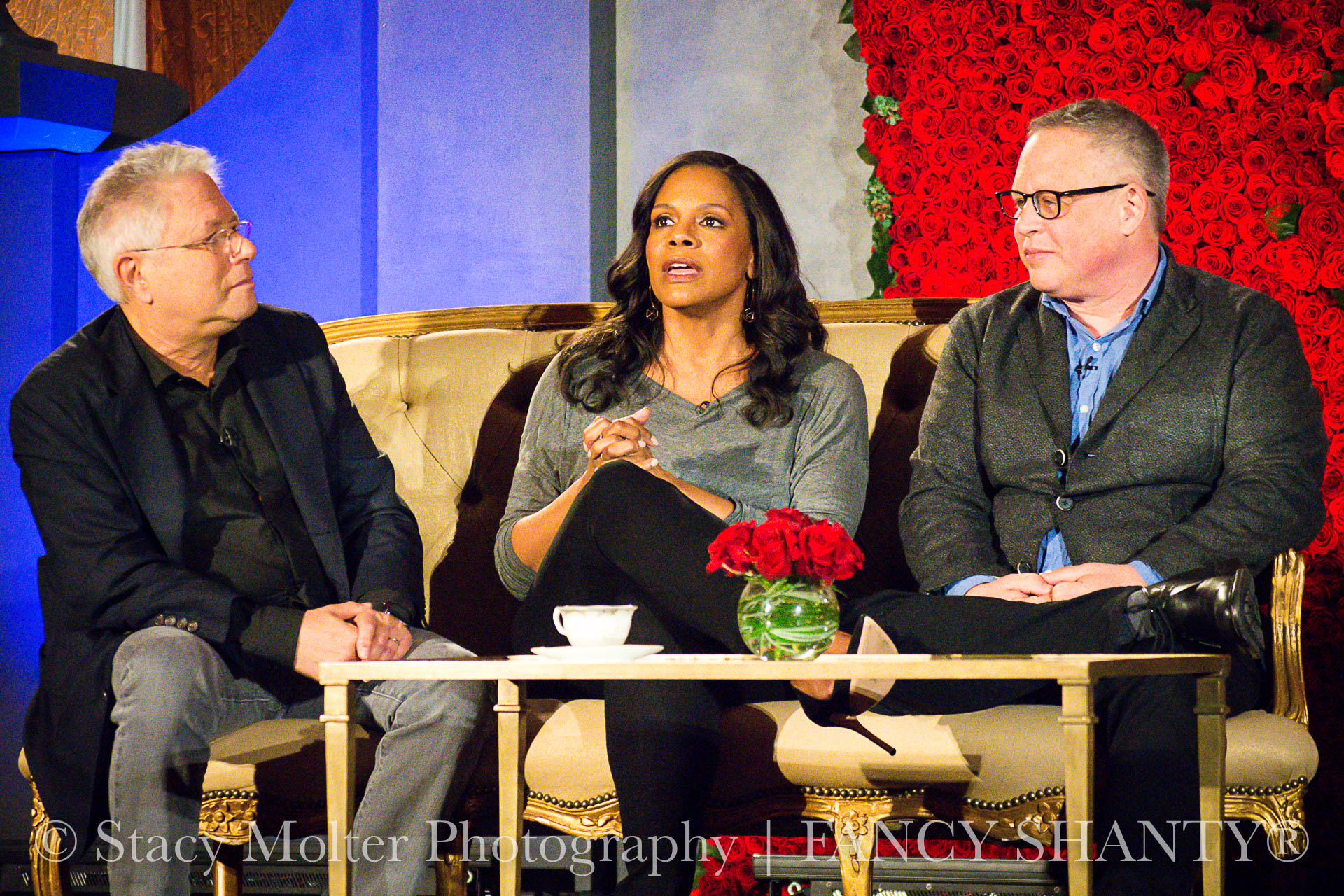 Alan Menken, Audra McDonald, Bill Condon - Disney's Beauty and the Beast Press Conference