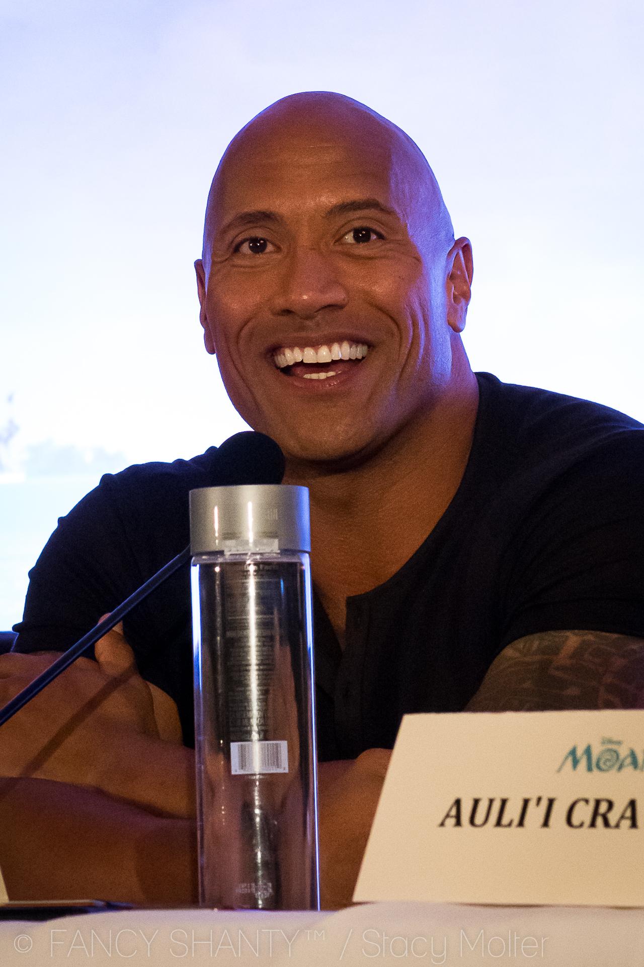 Dwayne Johnson - Disney's Moana Press Conference