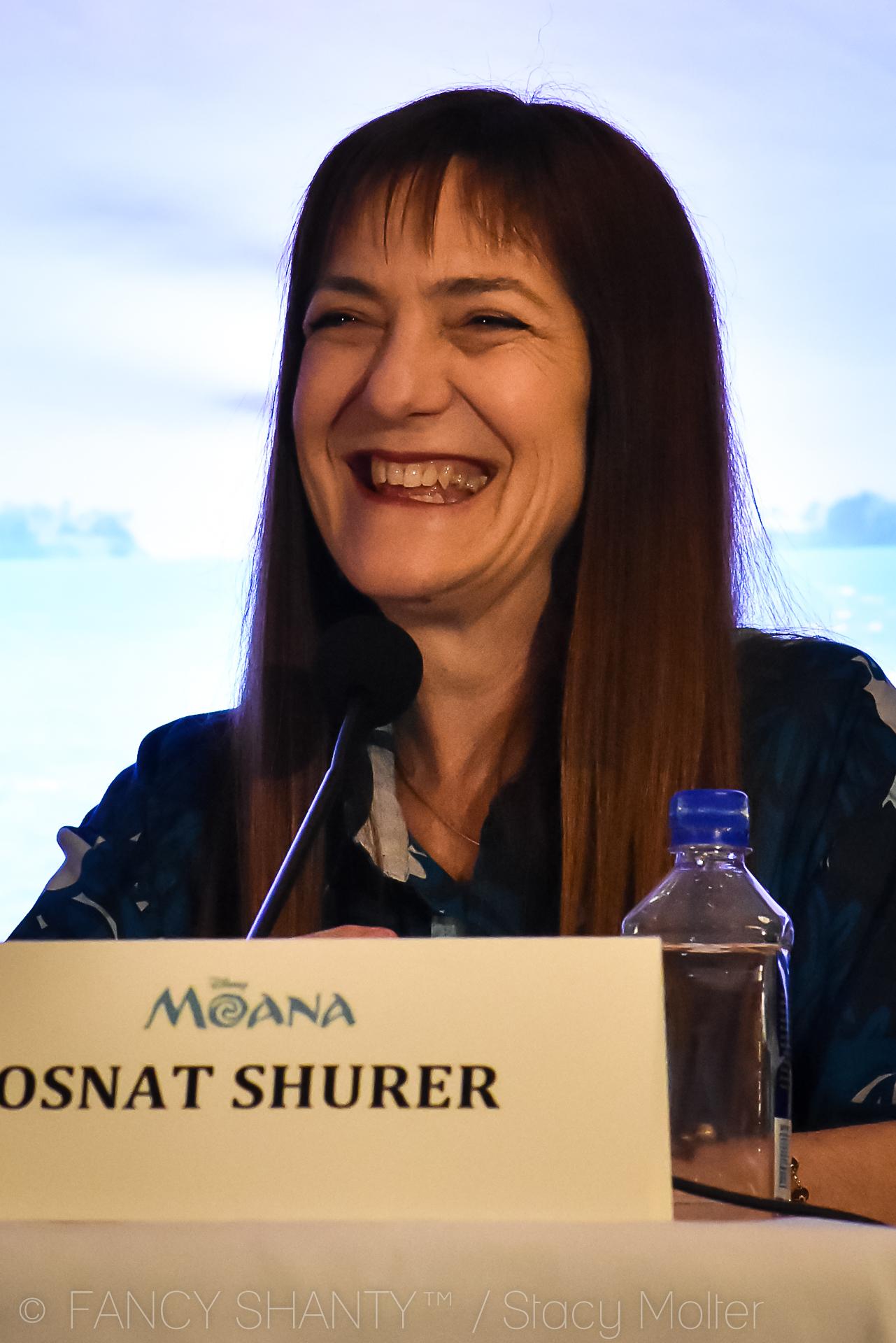 Osnat Shurer -  Disney's Moana Press Conference