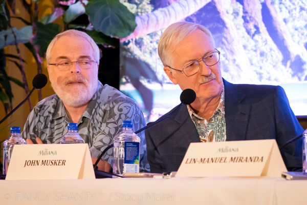 John Musker, Ron Clements, Sean Lurie -  Disney's Moana Press Conference