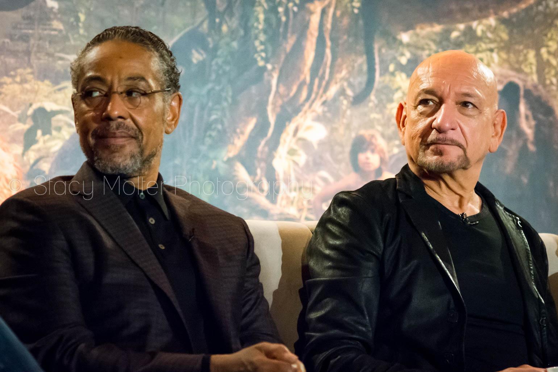 Giancarlo Esposito & Sir Ben Kingsley - Disney's The Jungle Book Press Conference