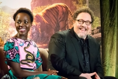 Lupita Nyong'o & Jon Favreau - Disney's The Jungle Book Press Conference