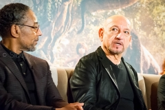 Giancarlo Esposito & Sir Ben Kingsley - Disney's The Jungle Book Press Conference