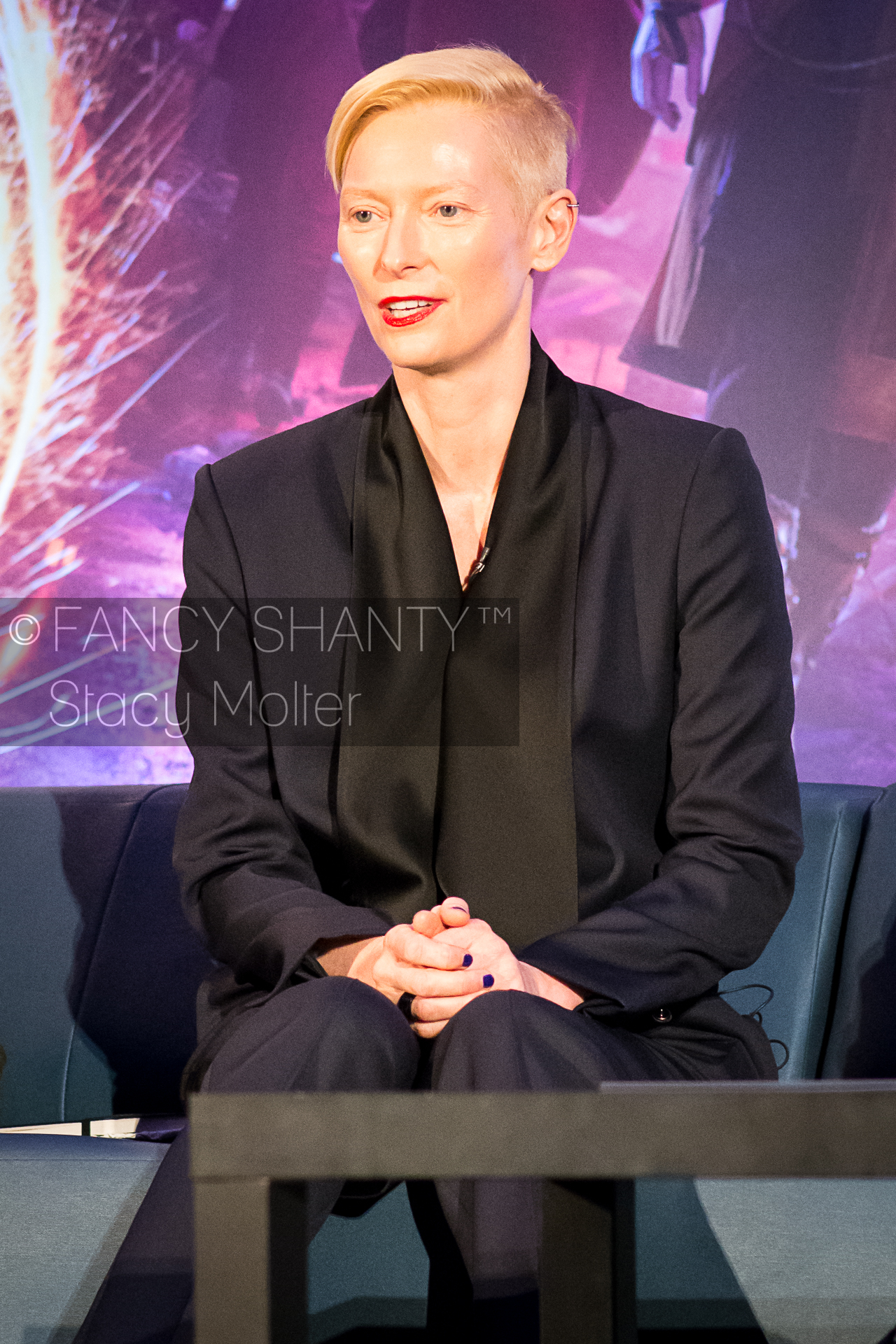 Tilda Swinton - Doctor Strange Press Conference
