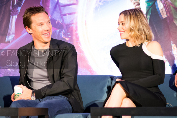 Kevin Feige, Rachel McAdams - Doctor Strange Press Conference