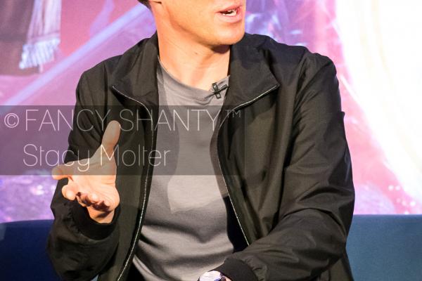 Benedict Cumberbatch- Doctor Strange Press Conference