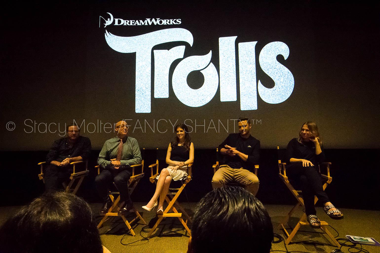Anna Kendrick, Justin Timberlake - Dreamworks Animation Trolls Press Day