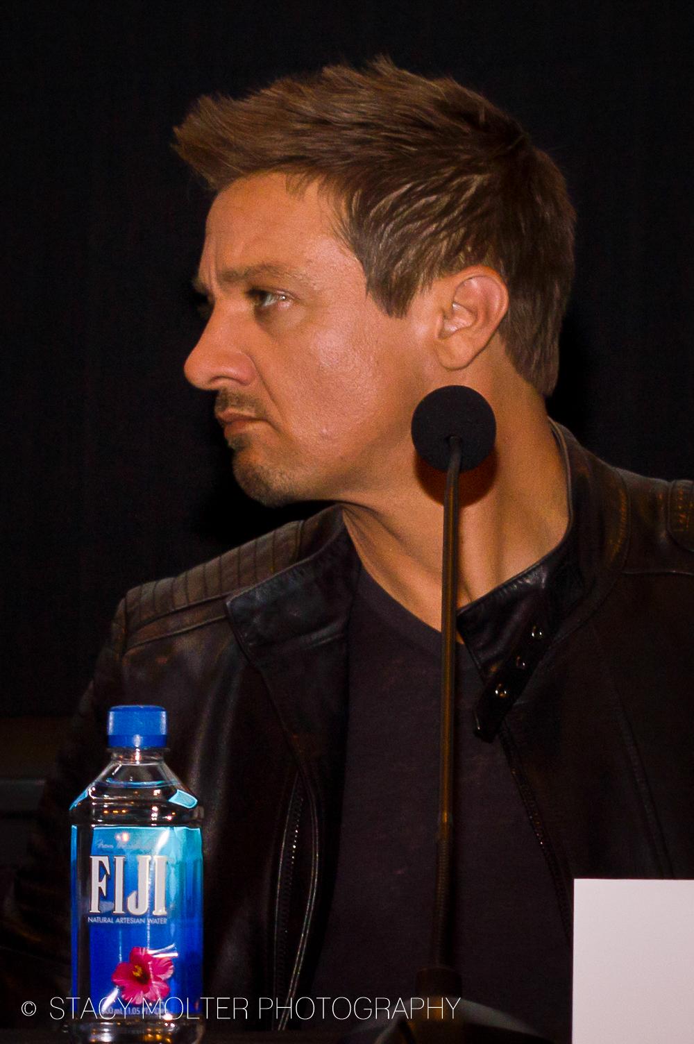 Jeremy Renner - Avengers Age of Ultron Press Conference Junket