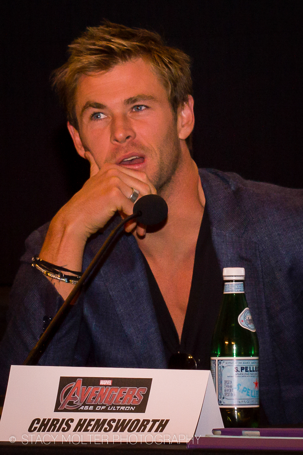 Chris Hemsworth - Avengers Age of Ultron Press Conference Junket