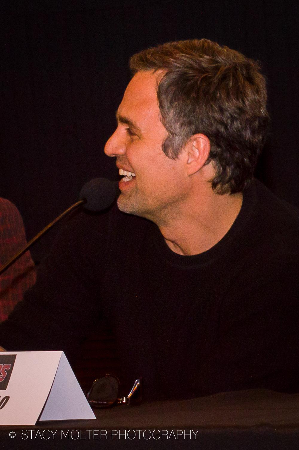 Mark Ruffalo - Avengers Age of Ultron Press Conference Junket