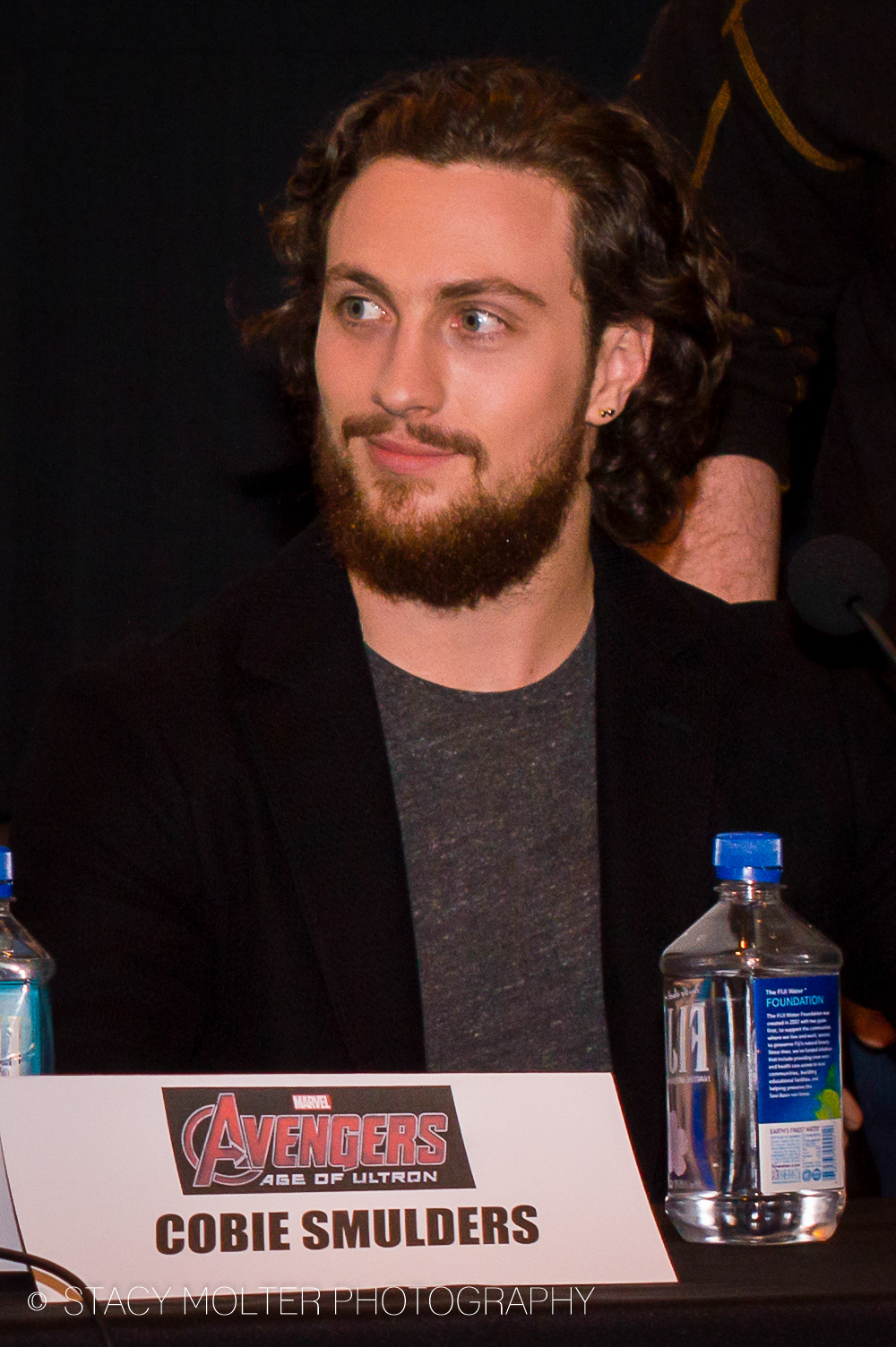 Aaron Taylor Johnson - Avengers Age of Ultron Press Conference Junket