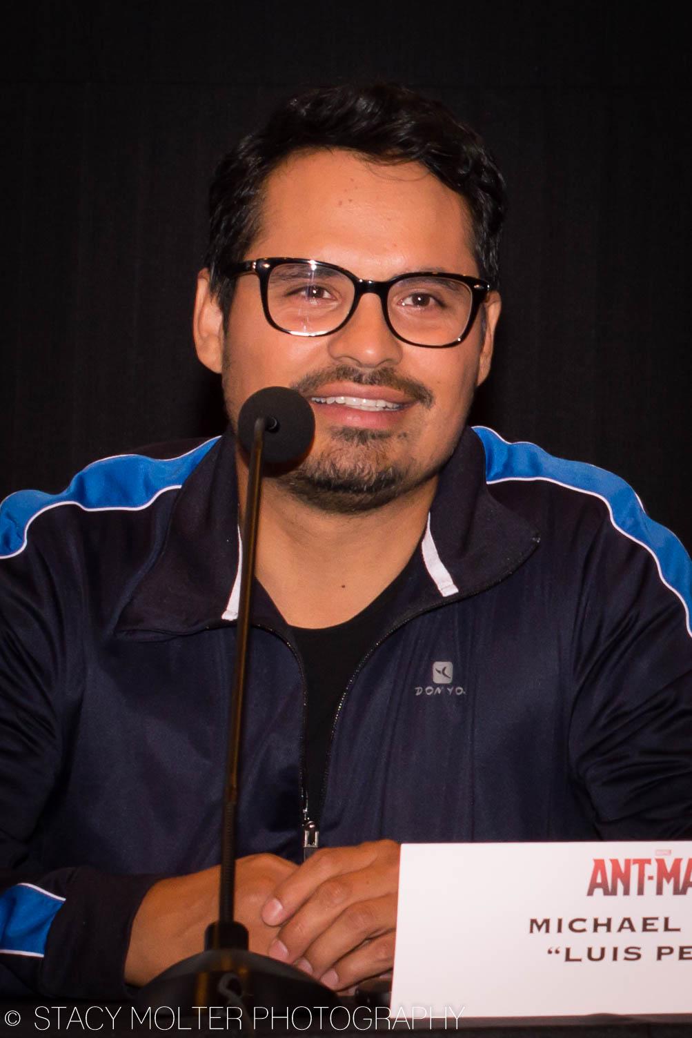 Michael Pena - Ant-Man Press Conference