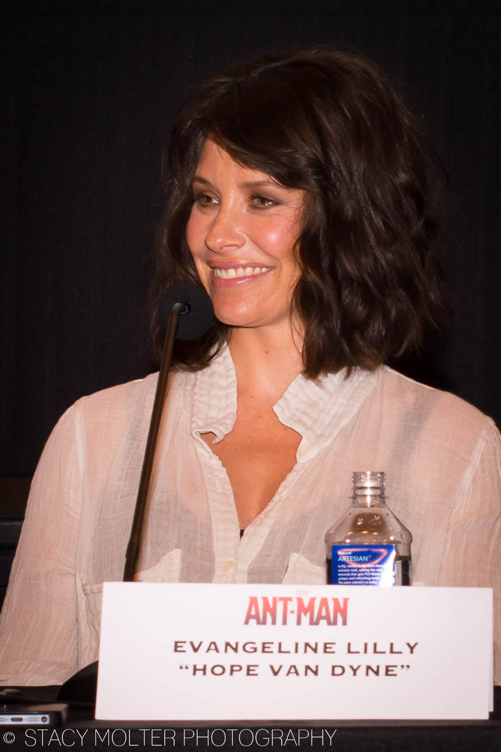 Evangeline Lilly - Ant-Man Press Conference