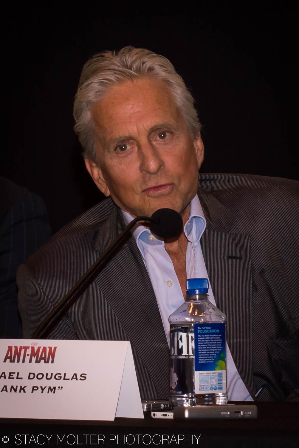 Michael Douglas - Ant-Man Press Conference