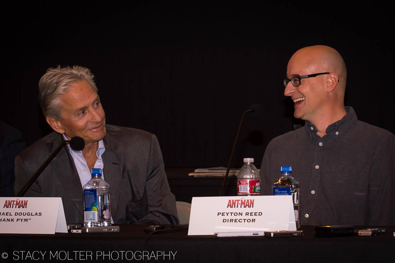 Michael Douglas, Peyton Reed - Ant-Man Press Conference