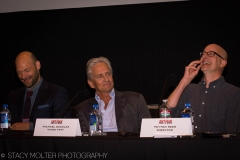 Corey Stoll, Michaels Douglas, Peyton Reed - Ant-Man Press Conference