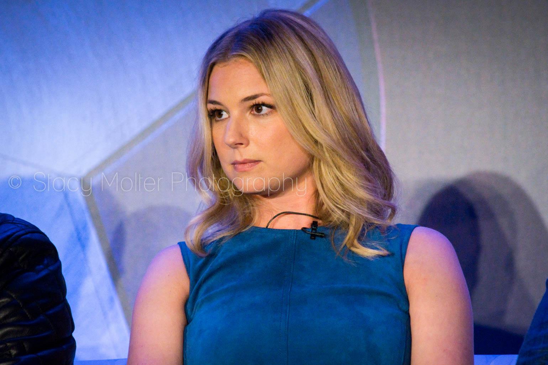 Emily Van Camp - Captain America: Civil War Press Conference