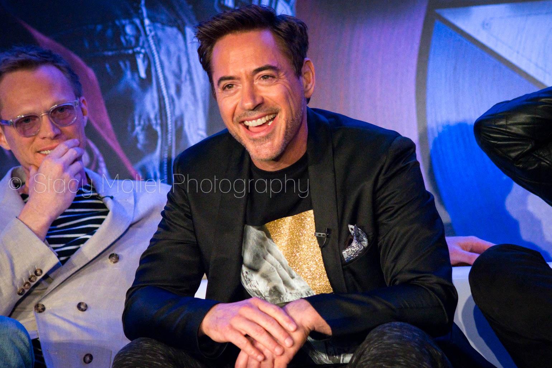 Paul Bettany & Robert Downey Jr. - Captain America: Civil War Press Conference
