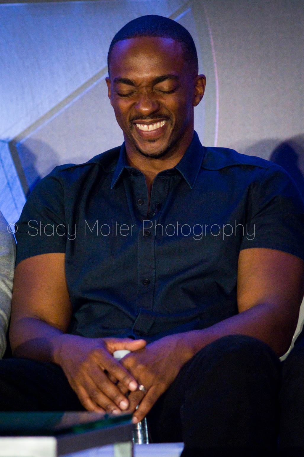 Anthony Mackie - Captain America: Civil War Press Conference