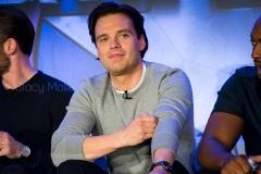 Sebastian Stan - Captain America: Civil War Press Conference