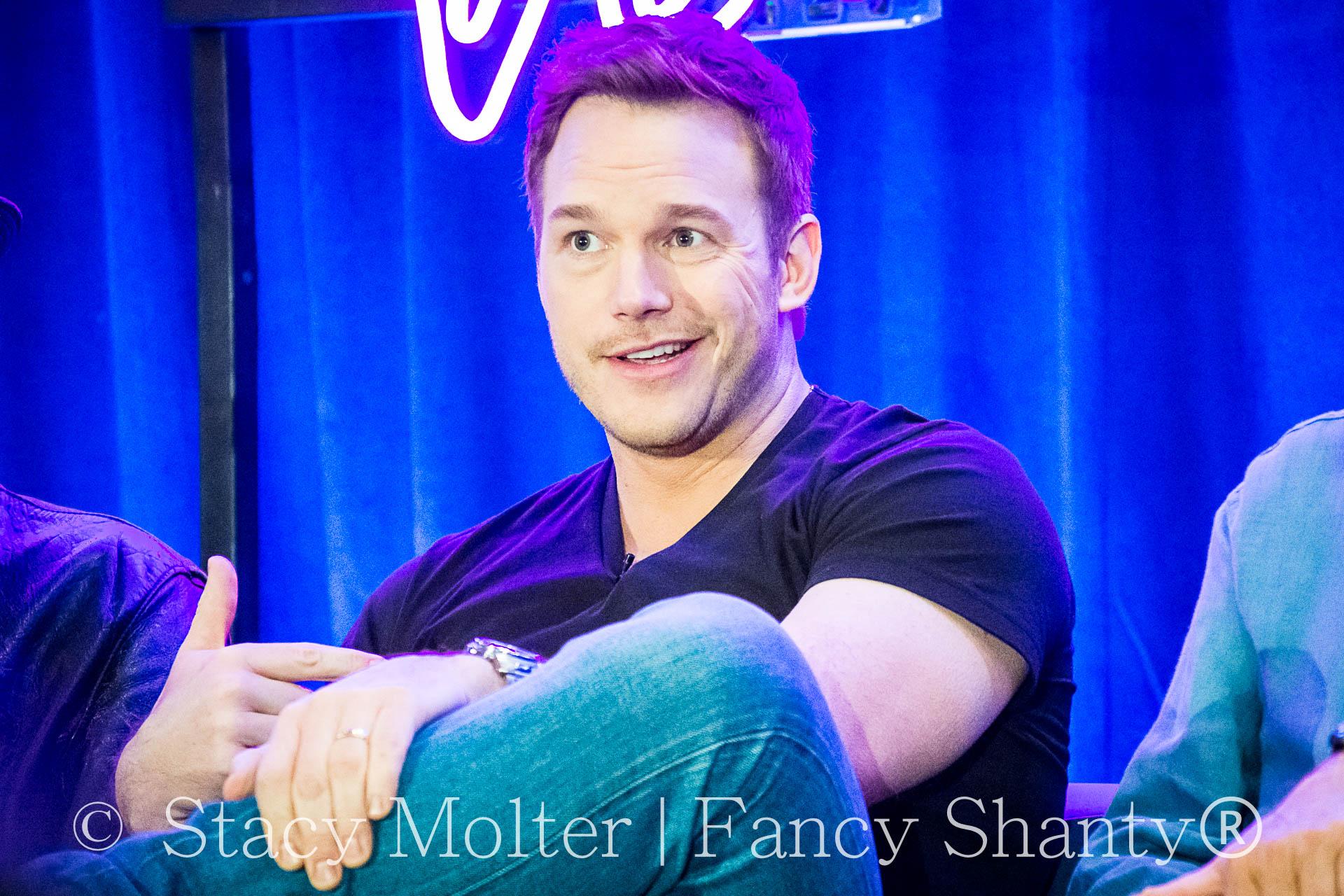 Chris Pratt - MARVEL's Guardians of the Galaxy 2 Press Conference